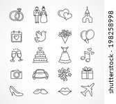 vector hand drawn set of...
