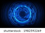 abstract circle sci fi... | Shutterstock .eps vector #1982592269