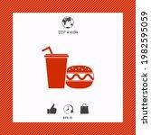 hamburger or cheeseburger ... | Shutterstock .eps vector #1982595059