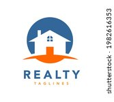 real estate realty logo simple...   Shutterstock .eps vector #1982616353