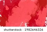 red watercolor background for...   Shutterstock .eps vector #1982646326