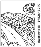 skyline drive of the shenandoah ...   Shutterstock .eps vector #1982648240