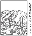 Wasson Peak At Tucson Mountain...