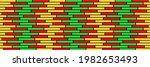 Red  Yellow And Green Bricks...