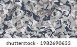 pixel wave brown and gray... | Shutterstock .eps vector #1982690633