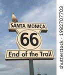 Santa Monica Pier  California   ...