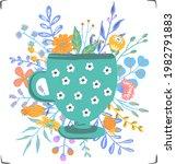 Cute Vintage Tea Cup With...