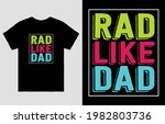 rad like dad fathers day t... | Shutterstock .eps vector #1982803736
