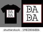 dada t shirt vector design ... | Shutterstock .eps vector #1982806886