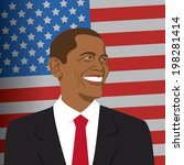 2014,america,art,background,barack,blue,cartoon,cheerful,drawing,emotion,energy,face,fun,graphic,happiness