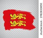 flag of normandy brush strokes. ...
