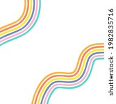 abstract rainbow colour waves... | Shutterstock .eps vector #1982835716