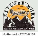 extreme adventure vintage...   Shutterstock .eps vector #1982847110
