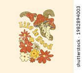 life is good slogan with...   Shutterstock .eps vector #1982894003