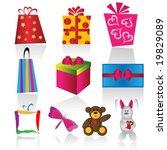 gift set | Shutterstock .eps vector #19829089