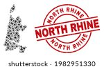 north rhine rubber seal  and...   Shutterstock .eps vector #1982951330