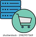 ecommerce hosting concept ... | Shutterstock .eps vector #1982957369