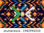 ikat geometric folklore... | Shutterstock .eps vector #1982996510