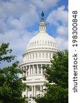 u.s. capitol building  ... | Shutterstock . vector #198300848