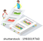 visualize with business... | Shutterstock .eps vector #1983019760