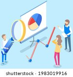 visualize with business... | Shutterstock .eps vector #1983019916