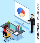 visualize with business... | Shutterstock .eps vector #1983019970