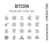 premium pack of bitcoin line...