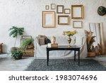Bohemian Style Living Room...