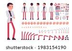 businessman  smart office... | Shutterstock .eps vector #1983154190