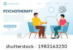 psychotherapy  mental problem... | Shutterstock .eps vector #1983163250
