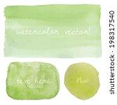 vector watercolor background....   Shutterstock .eps vector #198317540