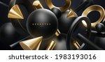 black and golden geometric... | Shutterstock .eps vector #1983193016