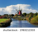 View From A Canal Bridge To The ...