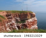 View To The Rusty Cliffs And...