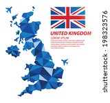 united kingdom geometric... | Shutterstock .eps vector #198323576