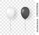 balloon 3d icon set  isolated...   Shutterstock .eps vector #1983339836