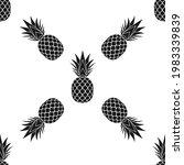 pineapple seamless pattern....   Shutterstock .eps vector #1983339839