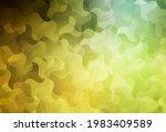 Dark Green  Yellow Vector...