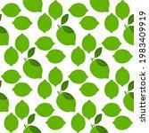 lemon fruits seamless pattern....   Shutterstock .eps vector #1983409919