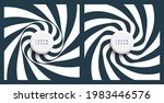 pattern with optical illusion.... | Shutterstock .eps vector #1983446576