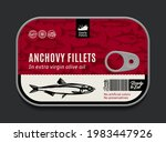 canned anchovy label template ...   Shutterstock .eps vector #1983447926