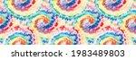vector tie dye swirl.... | Shutterstock .eps vector #1983489803