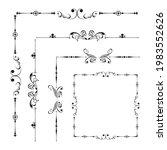 set of vector graphic elements...   Shutterstock .eps vector #1983552626