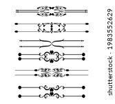 set of vector graphic elements...   Shutterstock .eps vector #1983552629