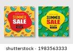 summer sale banner cover... | Shutterstock .eps vector #1983563333