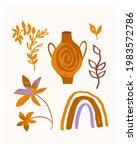 hello summer card. hand drawn...   Shutterstock .eps vector #1983572786