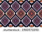 ikat geometric folklore... | Shutterstock .eps vector #1983573350