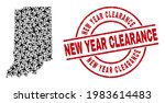new year clearance distress... | Shutterstock .eps vector #1983614483