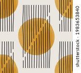 trendy minimalist seamless...   Shutterstock .eps vector #1983653840