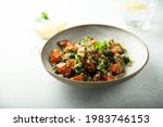 healthy buckwheat with...